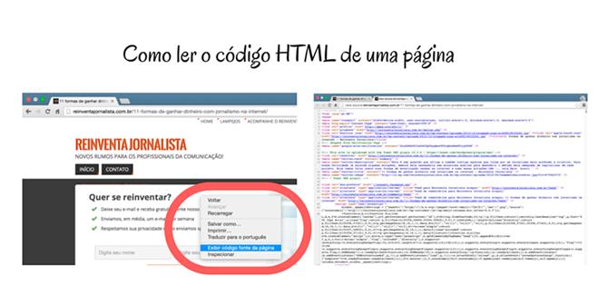 Exemplo de leitura de html em página na internet